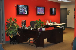 Reception Desk at Reception Desk
